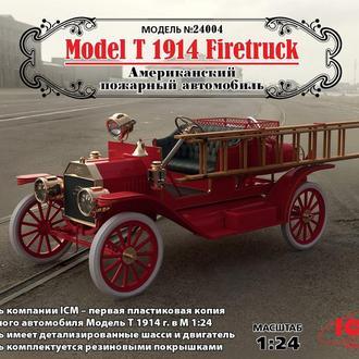 ICM - 24004 - Model T 1914 Firetruck - 1:24
