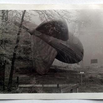 Старое фото Заградительный аэростат Вторая мировая война Германия nB 28f1358033f63