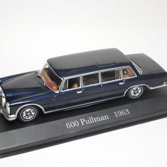 Лимузин Mercedes-Benz 600 Pullman (1963) IXO/Altaya