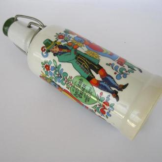 Очаровательная бутылка, штоф, емкость!Германия!