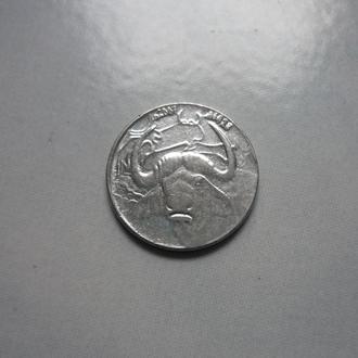 Алжир 1 динар 2007 фауна