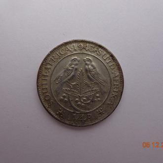 Южная Африка 1/4 пенни (фартинг) 1943 George VI отличное состояние очень редкая