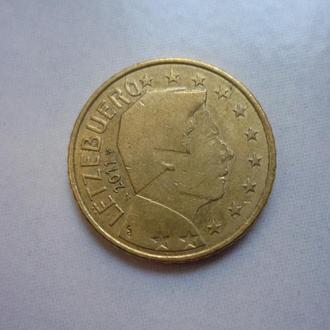 Люксембург 50 евроцентов 2011