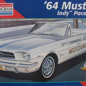 Сборная модель автомобиля Ford Mustang '64  Indy Pace Car  1:25 Monogram