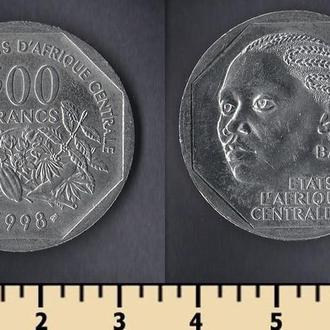 Центрально-Африканские штаты 500 франков 1998