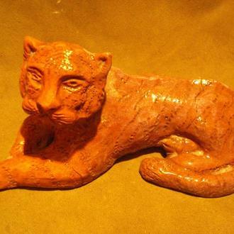 Кіт з глини