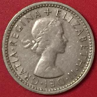 6 пенсов 1963 год Великобритания