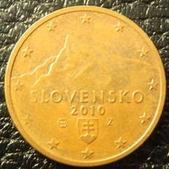 2 євроценти 2010 Словаччина