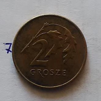ПОЛЬША, 2 гроша 2007 г.