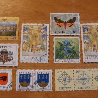 Литва Латвия одним лотом