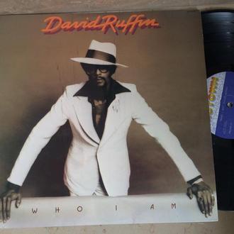 David Ruffin – Who I Am  ( USA)    Soul DISCO  LP