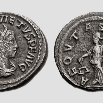 """(А)3507 - Квиет (260—261 г.) AR Антониниан """"Равенство"""""""