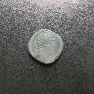 Ас Коммода.Римский чекан.