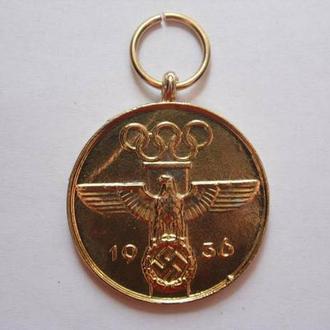 Копия Медали Олимпийских игр 1936 года 1 степень