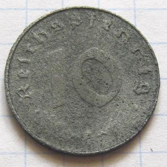 Третий Рейх _ 10 рейхспфеннига 1940 года   10 пфеннигов 1940 года