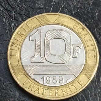 10 франків 1989 Франція