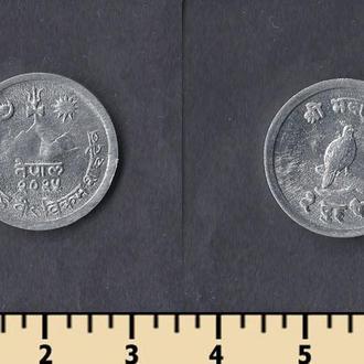 Непал 2 пайса 1966-1971