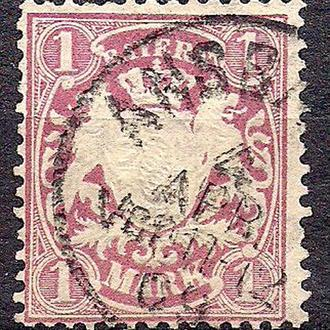 Бавария, немецкие земли, 1881 г., марка № 53