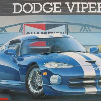 Сборная модель автомобиля Dodge   Viper GTS   1:25 Revell