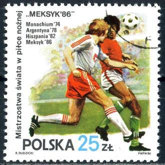 Польша. Футбол  (серия) 1986 г.