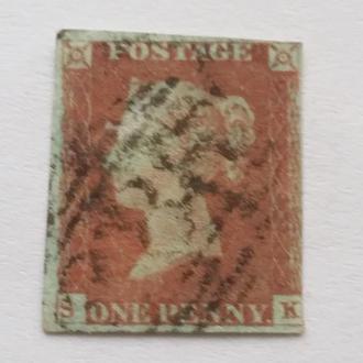 Великобритания 1841 г № 3