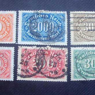 Германия 1921г.гаш.(одна негаш.)