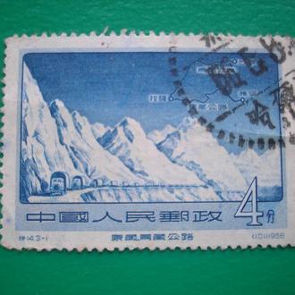 Китай 1956  Горы *