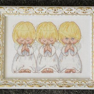 Рамка для вышивки крестиком, бисером, лентами Багет №38