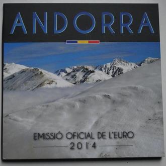 Андорра банковский набор евромонет 2014 г. BU