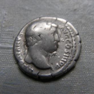 Рим денарий император Адриан, нечастый