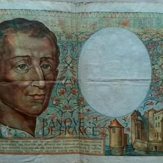 Двести франков Монтескьё (Франция)1984