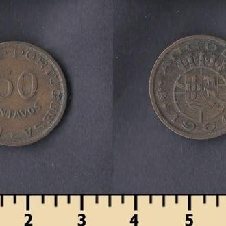 Ангола 50 сентаво 1961