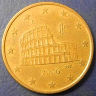 5 евроцентов 2006 Италия