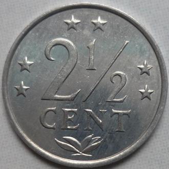 Нидерландские Антилы 2 1:2 цента 1983 состояние в коллекцию