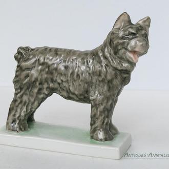 Фарфоровая статуэтка Венгрия Herend Собака