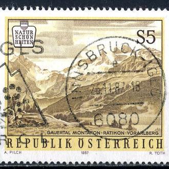 Австрия. Природа Австрии №2 (серия) 1987 г.