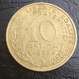 10 сантимів 1983 Франція