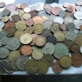коллекция монет 151 шт
