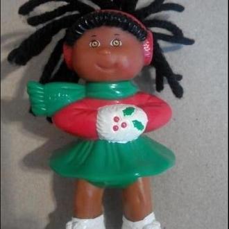 Микро кукла капустка фигуристка 9см США