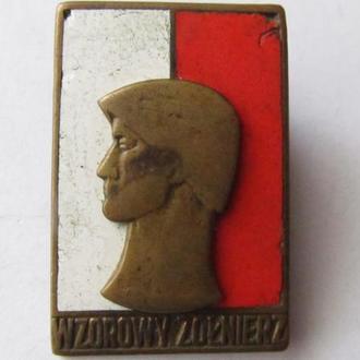 значок Польша Отличный Солдат
