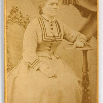 Кабинетка Кабинет Портрет 1880-е гг., Amberg, Germany, fB