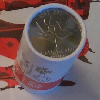 Канада 50 центов 2017 Состояние, Юбилейные -150 лет Конфедерации Канада-