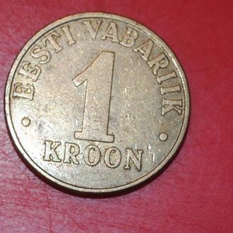 1 крона 2000 г Эстония