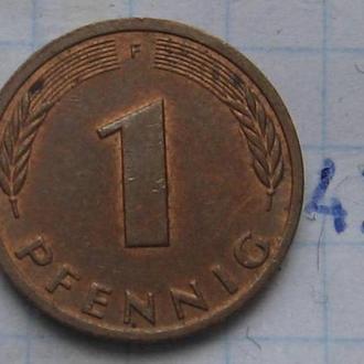 ФРГ, 1 пфенниг 19864 года (F).