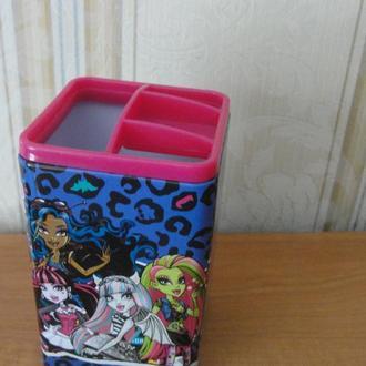 Монстер Хай , Monster High, подставка для ручек и карандашей