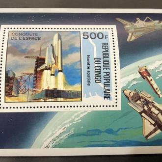 1981. Конго. Космос. MNH