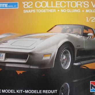 Сборная модель автомобиля Chevrolet  '82 Corvette Collector's Vette   1:24 Monogram