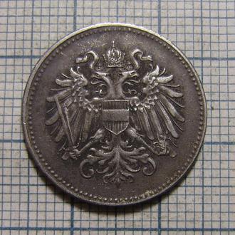 Австро-Венгрия 20 геллеров 1917 г. (Железо)
