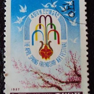 Северная Корея 1987г