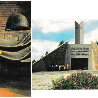 Календарики 1990 Памятники